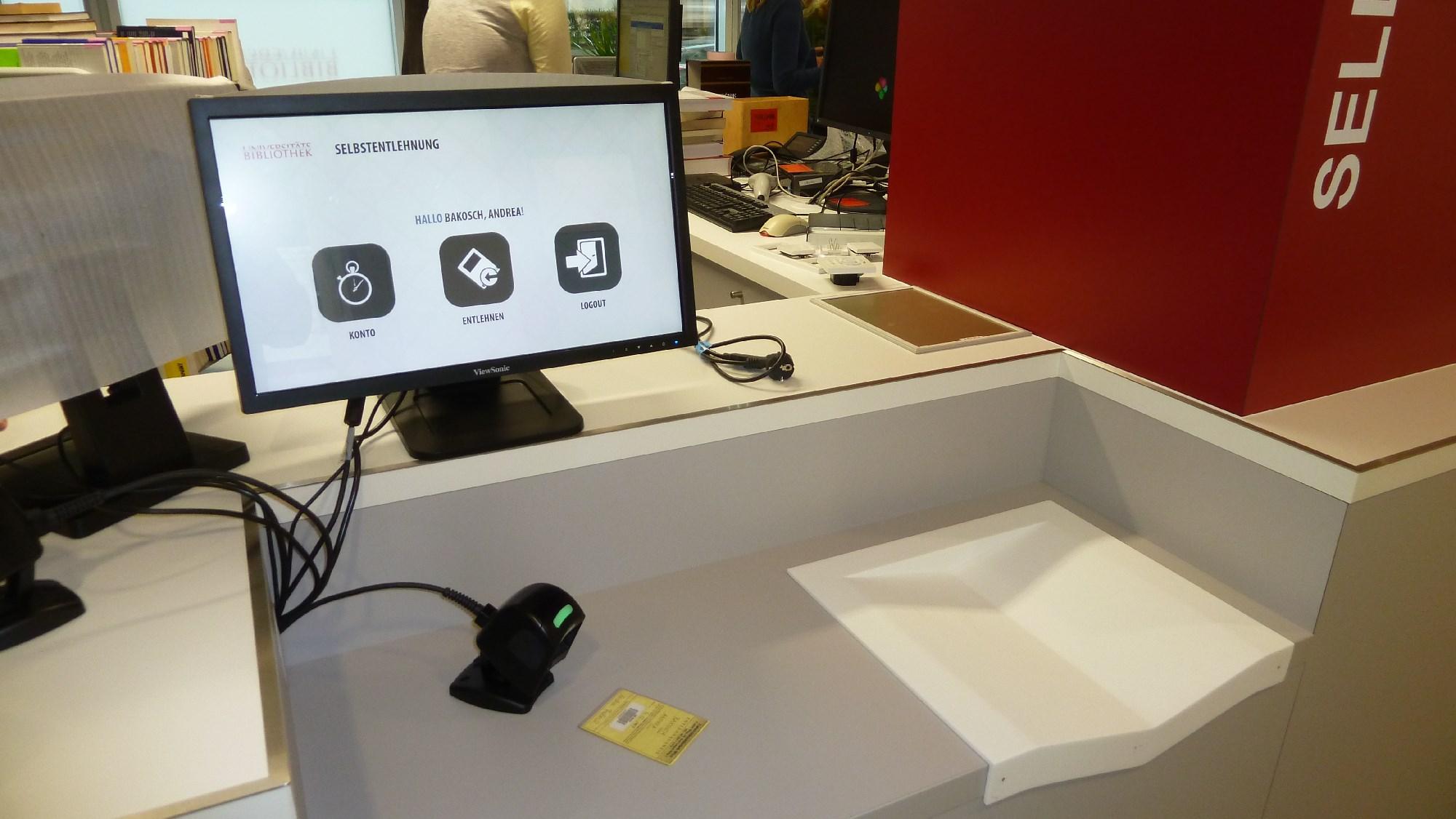 RFID Sebstverbucher